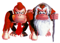Donkey Kong and Cranky Kong - Donkey Kong Country.png