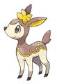 Deerling (Winter) - Pokemon Black and White.png