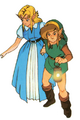 Link and Zelda - The Legend of Zelda A Link to the Past.png