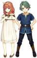 Alm and Celica (Young) - Fire Emblem Echoes Shadows of Valentia.png