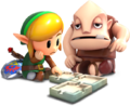 Dampe and Link - The Legend of Zelda Links Awakening for Nintendo Switch.png