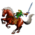 Link and Epona (alt) - The Legend of Zelda Ocarina of Time.png