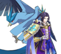 Mitsuhide and Articuno - Pokemon Conquest.png
