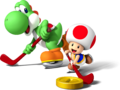 Yoshi and Toad - Mario Sports Mix.png