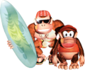 Diddy Kong and Funky Kong - Donkey Kong Country.png