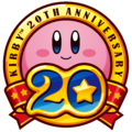 Kirby 20th Anniversary logo.png