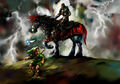 Link and Ganondorf - The Legend of Zelda Ocarina of Time.jpg