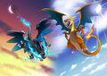 Mega Charizard event (alt) - Pokemon X and Y.jpg