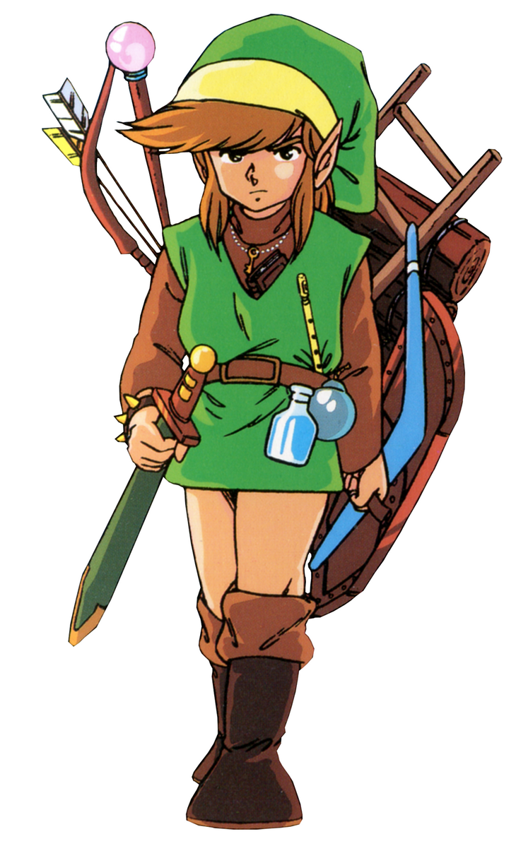 a creative story about link from the legend of zelda Gallery of captioned artworks and character pictures from the legend of zelda: skyward sword, featuring concept art for the game's characters, monsters, and items.
