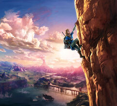 Key art from The Legend of Zelda: Breath of the Wild