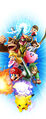Key art (alt 4) (no logo) - Super Smash Bros. for Wii U.jpg