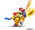 Bowser and Mario - Mario Sports Mix.png