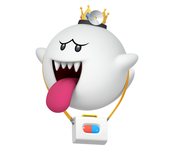 File:Dr. King Boo - Dr. Mario World.png