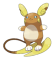 Alolan Raichu - Pokemon Sun and Moon.png
