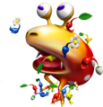 Attacking a Red Bulborb - Pikmin.png