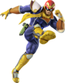 Captain Falcon (shadowless) - Super Smash Bros. for Nintendo 3DS and Wii U.png