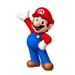 Artwork of Mario from Fortune Street