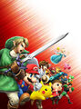 Key art (no logo) - Super Smash Bros. for Nintendo 3DS.jpg