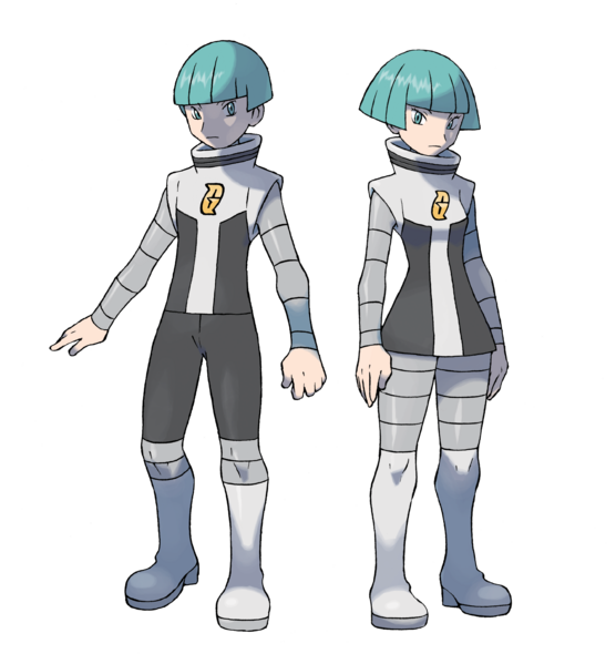 File:Team Galactic Grunts - Pokemon Diamond and Pearl.png