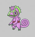 Purple Kecleon - Pokemon Mystery Dungeon Red and Blue Rescue Teams.jpg