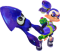 Blue Inkling and squid - Splatoon.png