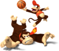 Donkey Kong and Diddy Kong - Mario Sports Mix.png