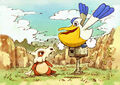 Cubone and Pelipper - Pokemon Mystery Dungeon Red and Blue Rescue Teams.jpg