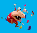Red Bulborb chasing Pikmin - Pikmin 2.jpg