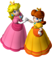 Princess Peach and Princess Daisy - Mario Party 7.png