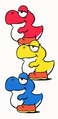 Baby Yoshis - Super Mario World.png