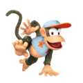 Diddy Kong (White) - Super Smash Bros. for Nintendo 3DS and Wii U.png