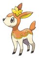 Deerling (Autumn) - Pokemon Black and White.png