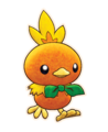 Torchic - Pokemon Mystery Dungeon Rescue Team DX.png