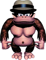 Unused Hatted Kong - Donkey Kong Land.png