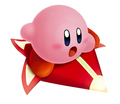 Kirby on a Free Star - Kirby Air Ride.png