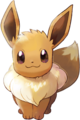 Eevee - Pokemon Let's Go Pikachu and Pokemon Let's Go Eevee.png