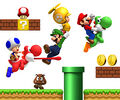 Group art (E3 2009) - New Super Mario Bros. Wii.jpg