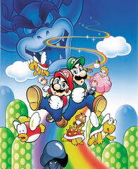 Box art for Super Mario Bros. Deluxe