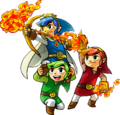 Launching a Fire Arrow - The Legend of Zelda Tri Force Heroes.png