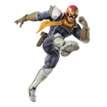 Captain Falcon (Gray) - Super Smash Bros. for Nintendo 3DS and Wii U.png