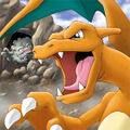 Charizard and Graveler - Pokemon Ranger.jpg