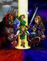 Main characters - The Legend of Zelda Ocarina of Time.jpg