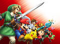 Key art (alt) (no logo) - Super Smash Bros. for Nintendo 3DS.jpg
