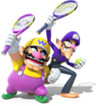 Wario and Waluigi - Mario Tennis Ultra Smash.png