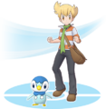 Barry and Piplup - Pokemon Masters.png