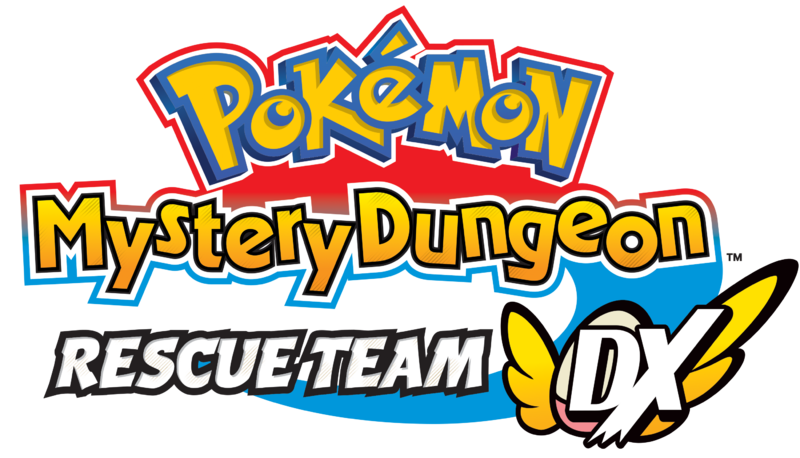 File:Logo EN - Pokemon Mystery Dungeon Rescue Team DX.png