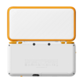 White + Orange (back) - New Nintendo 2DS XL.png