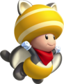 Flying Squirrel Yellow Toad - New Super Mario Bros U.png