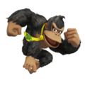 Donkey Kong (Black) - Super Smash Bros. for Nintendo 3DS and Wii U.png