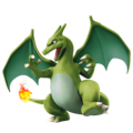 Charizard (Green) - Super Smash Bros. for Nintendo 3DS and Wii U.png